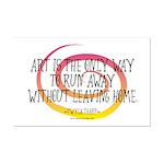 Runaway Artist II Mini Poster Print