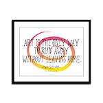Runaway Artist II Framed Panel Print