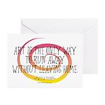 Runaway Artist II Greeting Cards (Pk of 10)