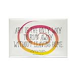 Runaway Artist II Rectangle Magnet (100 pack)