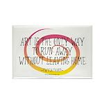 Runaway Artist II Rectangle Magnet
