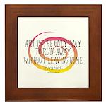 Runaway Artist II Framed Tile