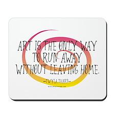 Runaway Artist II Mousepad