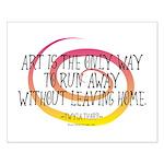 Runaway Artist II Small Poster