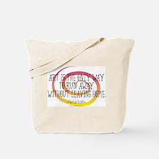 Runaway Artist II Tote Bag