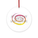 Runaway Artist II Ornament (Round)