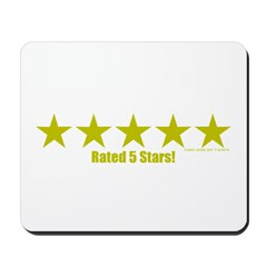 Rated 5 Stars Mousepad