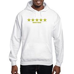 Rated 5 Stars Hoodie