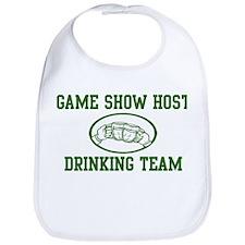 Game Show Host Drinking Team Bib
