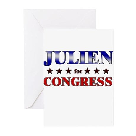JULIEN for congress Greeting Cards (Pk of 10)