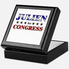 JULIEN for congress Keepsake Box