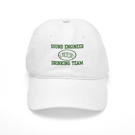 Sound Engineer Drinking Team Cap