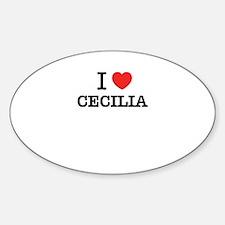 I Love CECILIA Decal