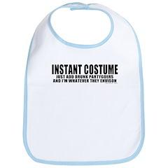 Instant Costume Halloween Bib