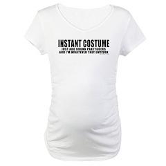 Instant Costume Halloween Maternity T-Shirt