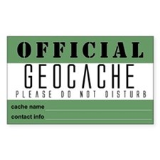 Geocaching Decal