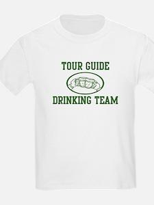 Tour Guide Drinking Team T-Shirt