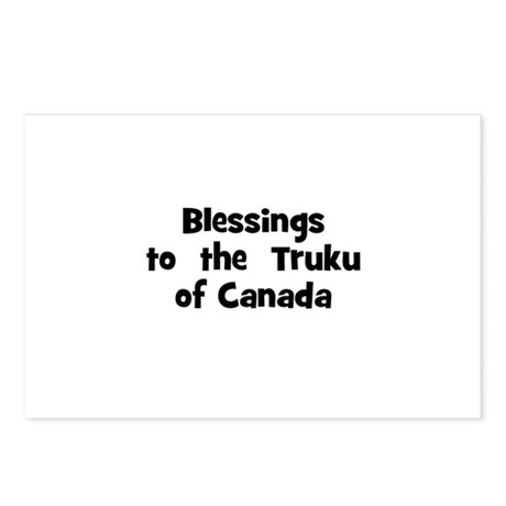 Blessings to the Truku of Postcards (Package o