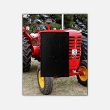 Old red tractor Picture Frame