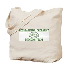 Recreational Therapist Drinki Tote Bag
