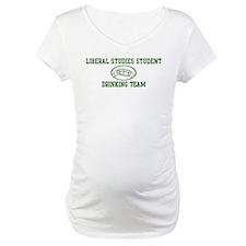 Liberal Studies Student Drink Shirt