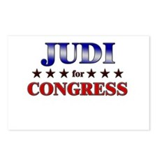 JUDI for congress Postcards (Package of 8)