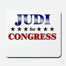 JUDI for congress Mousepad