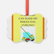 curling Ornament