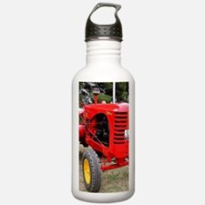 Old red tractor Water Bottle