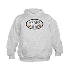 Bouvier Mom Oval Hoodie