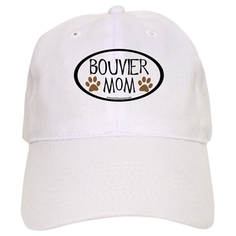 Bouvier Mom Oval Cap