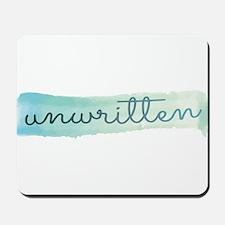 Unwritten logo Mousepad