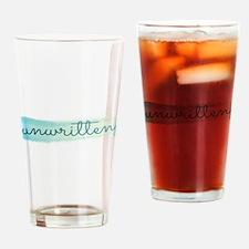Unwritten logo Drinking Glass