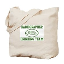 Radiographer Drinking Team Tote Bag