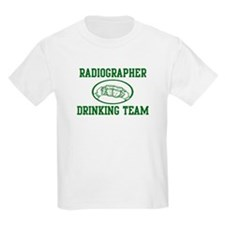 Radiographer Drinking Team T-Shirt