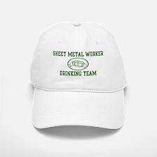 Sheet Metal Worker Drinking T Baseball Baseball Cap
