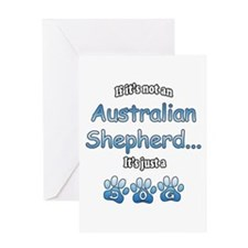 Aussie Shepherd Not Greeting Card