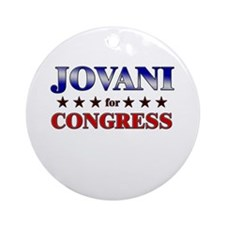 JOVANI for congress Ornament (Round)