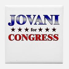 JOVANI for congress Tile Coaster