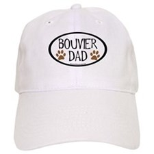 Bouvier Dad Oval Baseball Cap
