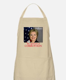 HILLARY THE QUEEN Apron