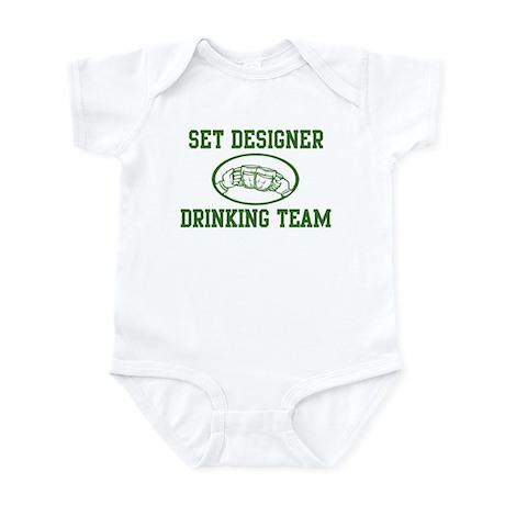 Set Designer Drinking Team Infant Bodysuit
