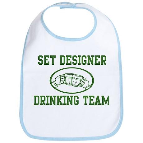 Set Designer Drinking Team Bib