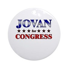 JOVAN for congress Ornament (Round)