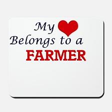 My heart belongs to a Farmer Mousepad