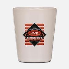 Wiener Shot Glass