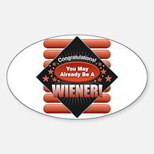 Wiener Decal