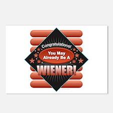 Wiener Postcards (Package of 8)