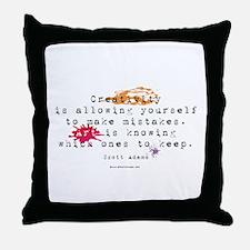 Definition of Art Throw Pillow