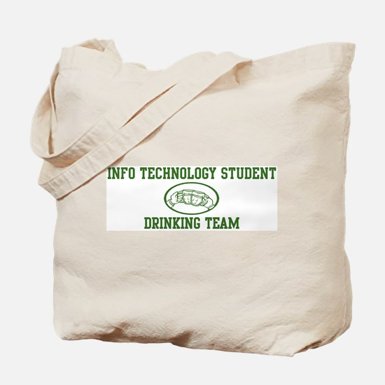 Info Technology Student Drink Tote Bag